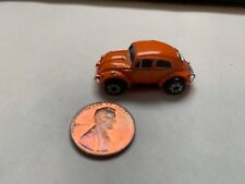 Micro Machines Orange Volkswagen Beetle