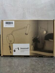 Metal Industrial Black Wall Light With On Off Switch Plug In LED Light For Home