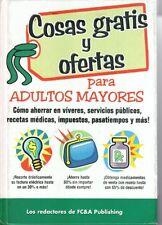Cosas gratis y ofertas para adultos mayores