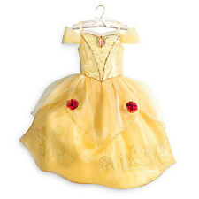 DISNEY STORE BELLE Costume Dress Girls Size 11-12 NWTs Beauty and the Beast