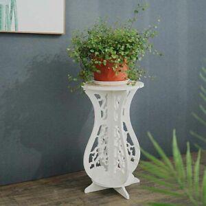 Home Garden Orchid Bracket Plant Stand Shelf Bonsai Holder Flower Pot Trays
