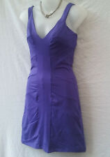 Kookai Dress Au Size 6-8 Mini Stretch Purple Casual Summer Evening Party Holiday