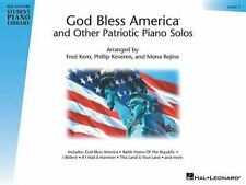 God Bless America and Other Patriotic Piano Solos Level 1 by Hal Leonard Library