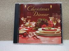 /Christmas Dinner By Reflections Featuring The Elegant Saxophone Quintet - CD