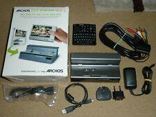 ARCHOS DVR STATION GEN 5 DOCK Genuine 5th Recording Media Docking Remote AV USB