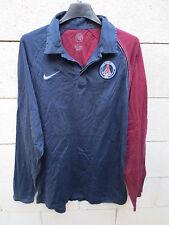 Polo PARIS PSG Nike Total 90 marine bordeaux shirt L
