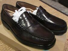 Nunn Bush Lincoln 85538‑05 Burgundy Leather Penny Loafer Size 9M New High Qual