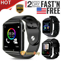 2020 Bluetooth Smart Watch & Phone with Camera For i Phone Samsung LG HTC Huawei