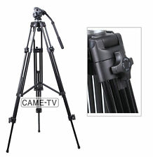 Professional E717 1.8 Meters Fluid Pan Tilt Head Tripod Load 6000g  Aluminium