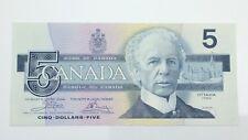 1986 Canada 5 Five Dollar ENP Prefix Canadian Circulated Banknote E987