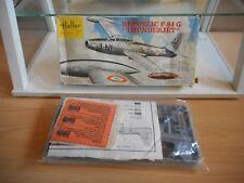 """Modelkit Heller Republic F-84 G """"Thunderjet"""" on 1:72 in Box"""