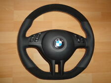 TOP Zustand  Lederlenkrad + Airbag BMW E39 E46 M3 M5 X5 ALCANTARA!