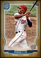 Victor Robles 2020 Topps Gypsy Queen 5x7 Gold #22 /10 Nationals