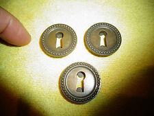 Ancien s Trous à clé de tiroir ou porte de Meuble ou Vitrine