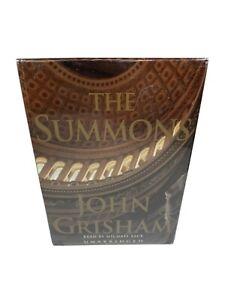 John Grisham The Summons Audiobook New Sealed in Box Cassette