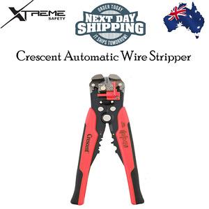 Automatic Electric Cable Striper Wire Stripper Self Adjust with Crimper Crescent