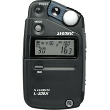 Sekonic L-308S FLASHMATE Light Meter with original box. Never used.
