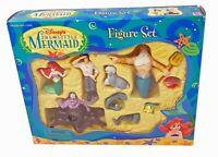 Disney's THE LITTLE MERMAID Figure Set Mattel 1997 With Ursula, Eels, Sebastian