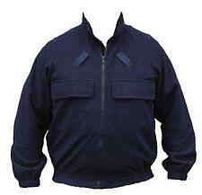 Ex Police Blue Windstopper Zipped Fleece Jacket Dog Handler Security Size LARGE