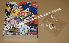 Sonic Adventure 2 Birthday Pack Limited Edition with 10th Anniversary Pin NEW