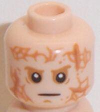 Lego Light Flesh Minifig Head x 1 Darth Vader or Anakin Skywalker Transformation