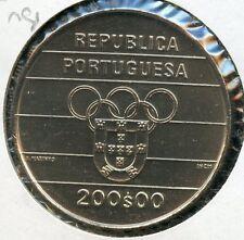 PORTUGAL 1991   200  ESCUDOS   KM-658    C0IN YOU DO THE GRADING HAVE FUN