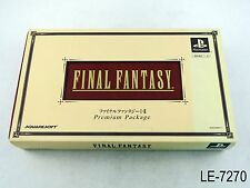 Final Fantasy I+II 1 2 Limited Premium Package Playstation 1 Japanese Import PS1