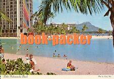 AK/vintage postcard: Duke Kahanamoku Beach, waikiki, Honolulu, Hawaii (1978)