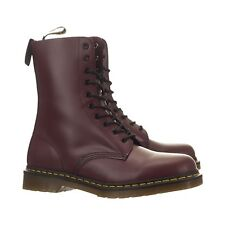 💥 Dr. Martens Doc 10 Eye Cherry Red 1490 Boots UK 3 US 5 💥