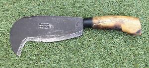 Vintage Brades 291 Billhook. 8 Inch Blade.