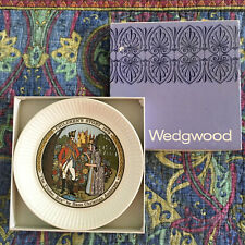 """Wedgwood Children's Story Collector Plate 6"""" The Tinder Box"""" 1972 New in Box"""
