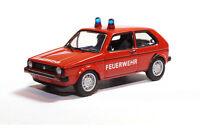 """#08803 - BUB VW Golf I - """"Feuerwehr"""" - 1:87"""