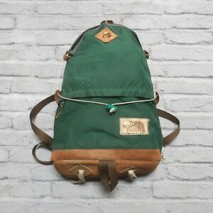 Vintage 70s North Face Tear Drop Backpack Pack Made in USA Brown Label Tag