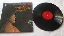 Ella Fitzgerald sings Irving Berlin vinyl album