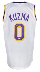 Kyle Kuzma Signed Los Angeles Lakers Jersey (Beckett COA) 2020 NBA Champ Forward