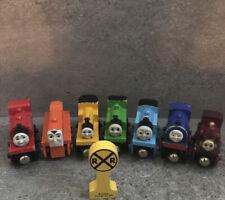 Thomas & Friends Wooden Railway Train Tank Engine Lot 7 Duncan Wilbert Lady ++