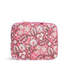"Vera Bradley Blush Pink Padded NWT Laptop Sleeve Fits 13"" Mac&Dell"