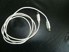 Cable USB para impresora o altavoces, Blanco, compatible con USB 1.0/2.0, Negro