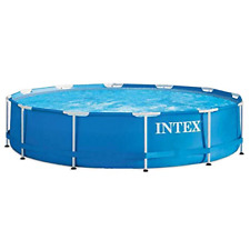 Intex 128210 Metal Frame Pool- 366x76cm