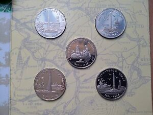 """Ukraine Set Coins 1995 year coin """"50 Years of Victory in the Second World War"""""""