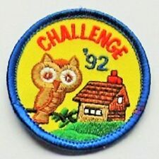 Brownie Guide Badge - Challenge '92 - New