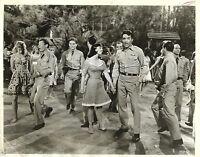 "YVONNE CRAIG & ELVIS ""The King"" PRESLEY in ""Kissin' Cousins"" Original Photo 1964"
