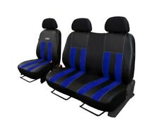 VW T6 2003- 2015 STRONG  ECO LAETHER - ALCANTARE  TAILORED SEAT COVERS