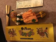 Vg Pelham Puppets Dutch Girl Made England 60's W/ Box Working Marionette 12 Inch