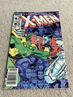 Uncanny X-Men #191, VF 8.0; First Nimrod; Spider-Man; Dr. Strange