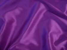 Purple Faux Silk Polyester Dress Fabric 150cm SOLD BY THE METRE FREE P+P