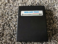 Solar Fox Commodore 64 Game Only Tested WORKS Authentic Game