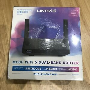 YYY sys MR7350 Dual-Band Mesh WiFi 6 Router - Compatible: AX1800, Velop, Alexa