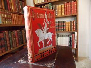 JEANNE D'ARC Par Marius SEPET(Nombreuses Planches de Gravures)1896