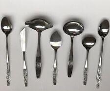 Silhouette Stainless Steel SST SST3 Serving 7 Pc Ladles Spoons Knife Japan MCM